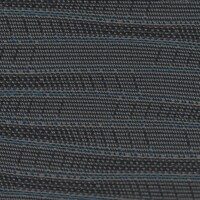 OEM Seating Cloth - Hyundai H300 - Horizontal Stripes (Blue/Grey/Purple)