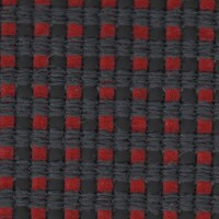OEM Seating Cloth - Peugeot 206 - Andorre (Anthracite/Red)