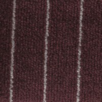 OEM Seating Cloth - Porsche 911/924/944 - Pinstripe Velour (Dark Red)