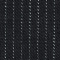 OEM Seating Cloth - Porsche 924 - Pinstripe Flannel (Dark Blue)