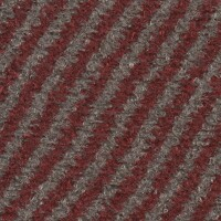 OEM Seating Cloth - Volvo 740 - Diagonal Stripe (Red/Beige)