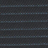 OEM Seating Cloth - Volvo FL Truck - Horizontal Stripe (Anthracite/Blue)