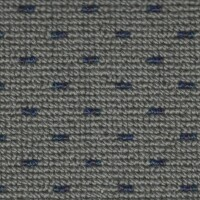 OEM Seating Cloth - Volvo V70 - Boxweave Cloth (Grey/Blue)