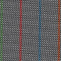 OEM Seating Cloth - Volkswagen - Striped (Grey/Multi)