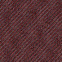 OEM Seating Cloth - Volkswagen - Flatwoven Twill (Red/Grey)