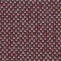 OEM Seating Cloth - Volkswagen Golf 1 Cabrio - Flatwoven Panama (Red/Grey)
