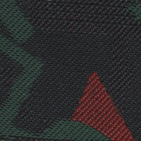 OEM Seating Cloth - Volkswagen Golf - Shape Motif (Black/Red/Green)
