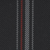 OEM Seating Cloth - Volkswagen Golf GTI Clubsport - Vertical Stripe (Red/Grey/Anthracite)