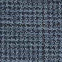 OEM Seating Cloth - Volkswagen Jetta - Houndstooth Window Motif (Blue)