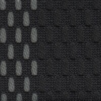 OEM Seating Cloth - Volkswagen - Stripey Mesh (Black/Grey)