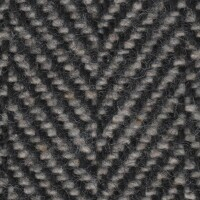 OEM Seating Cloth - Volkswagen Polo GL - Herringbone (Black/Grey)