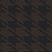 OEM Seating Cloth - Volkswagen Polo - Houndstooth (Brown/Cognac)