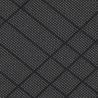OEM Seating Cloth - Volkswagen Sharan - Diagonal Window (Black/Grey)