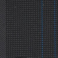 OEM Seating Cloth - Volkswagen - Vertical Stripe (Anthracite/Blue)