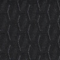 OEM Seating Cloth - Volkswagen Caravelle T6 - Hexagons (Black/Grey)