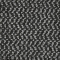 OEM Seating Cloth - Volkswagen - Velour Wavy Stripe (Black/Grey)
