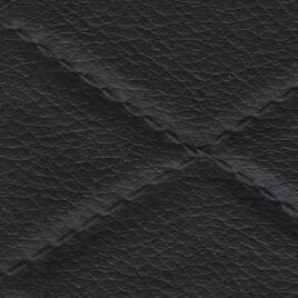Diamond Quilted Vinyl - Black